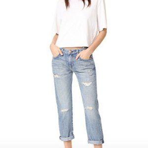 Current/Elliott Boyfriend Jeans Love Destroyed 26